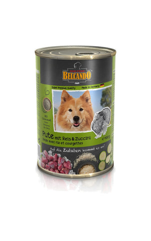 Belcando tins Turkey, 400g