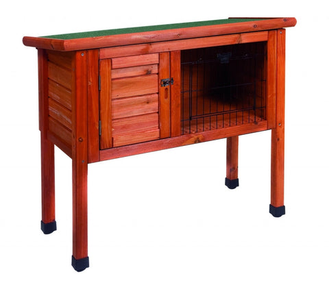 Duvo Woodland Rabbit hutch classic, Brown