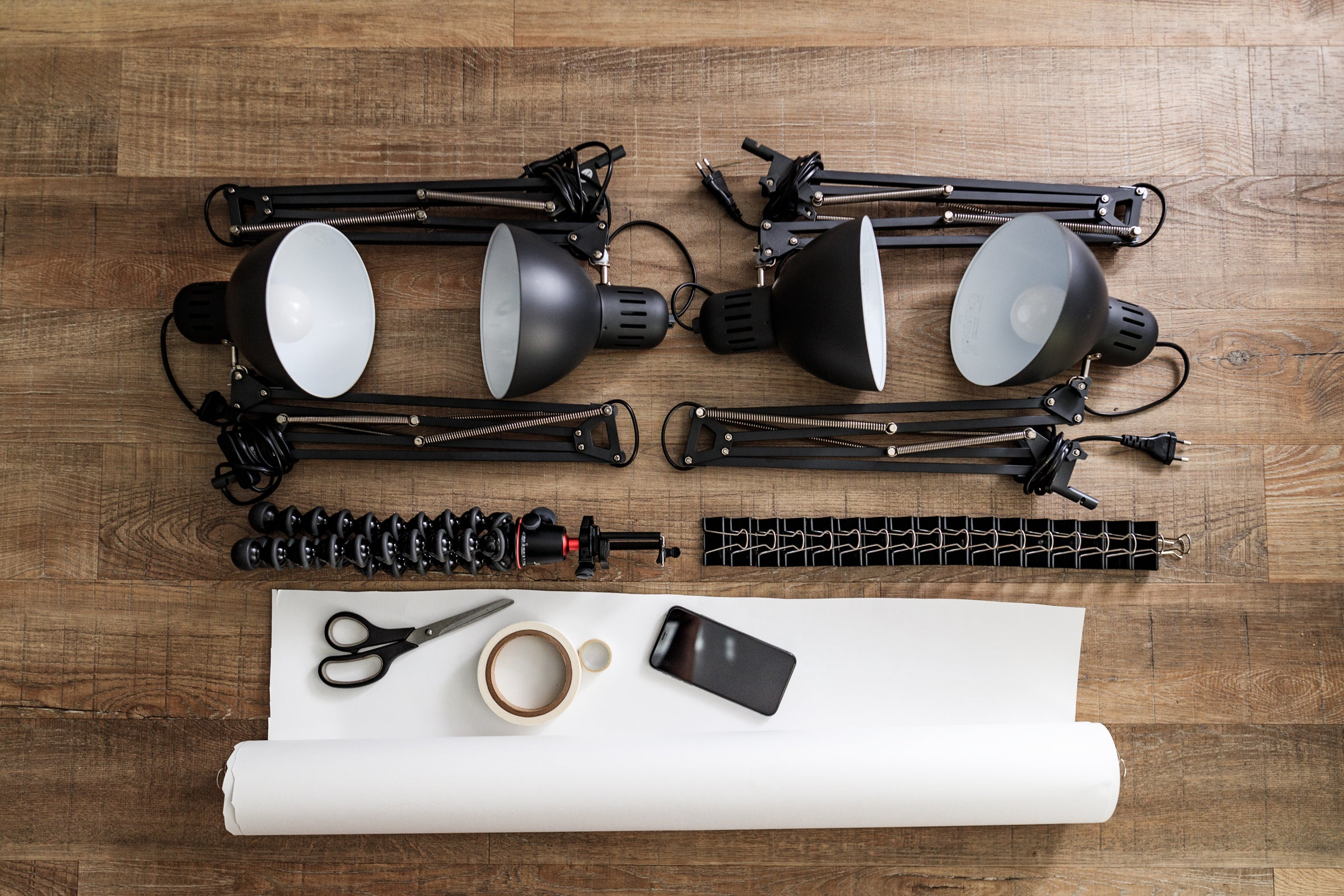 Equipment you will need to create spin product photography