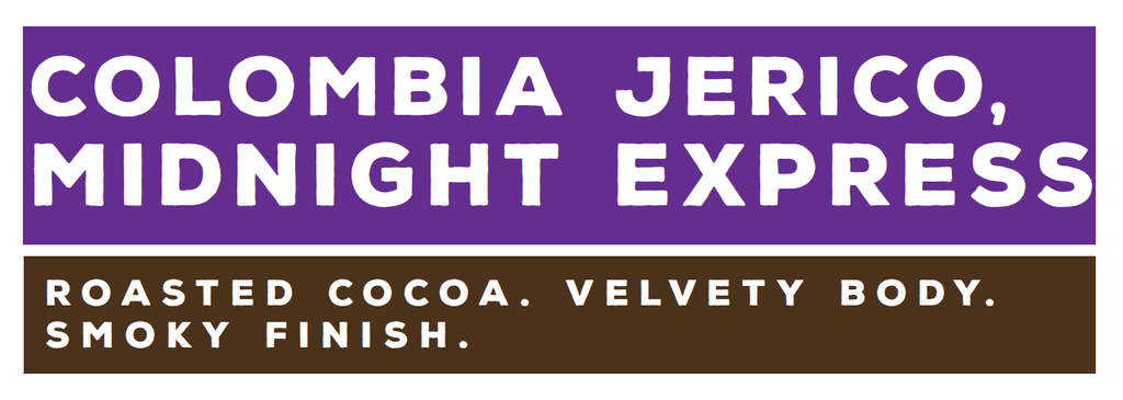 Colombia Jerico, Midnight Express