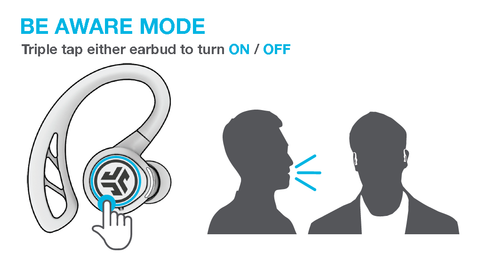 Be Aware Technology allows ambient noise in
