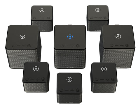 Connect 8 speakers
