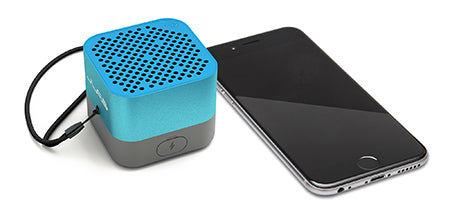 Blue Crasher Micro Bluetooth Speaker with Phone