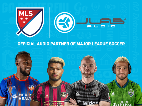 JLab Audio is the Official Audio Partner of Major League Soccer