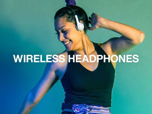 JLab features Bluetooth Wireless headphones for all day comfort and long battery life