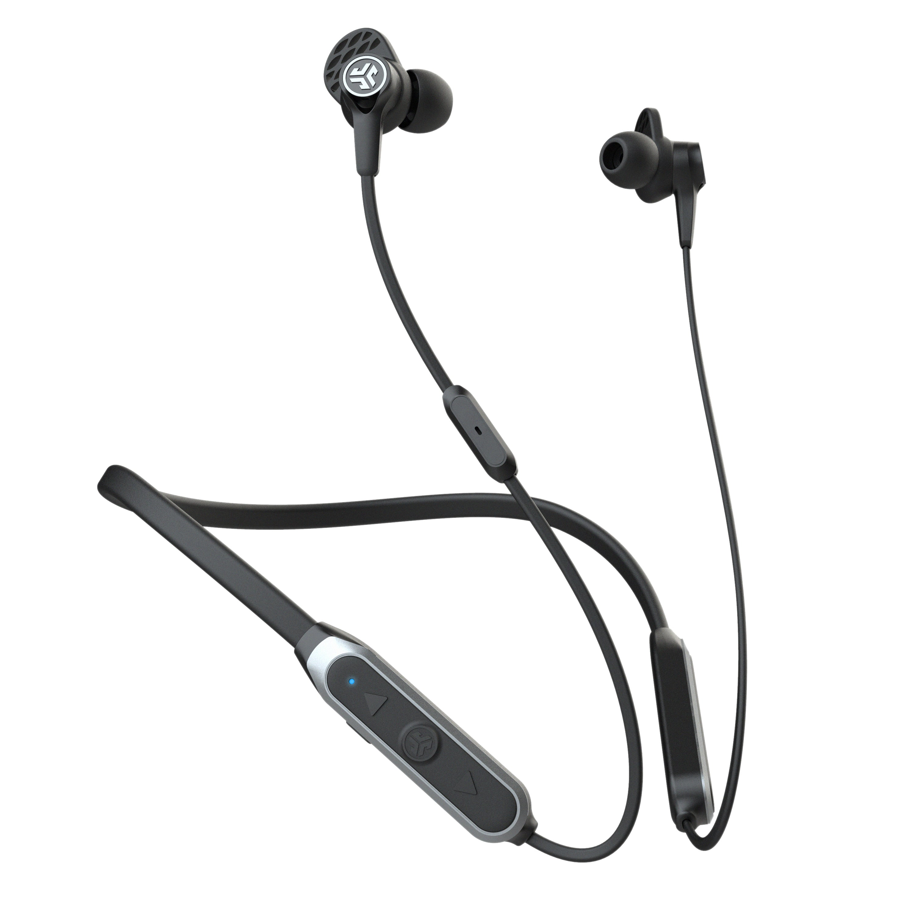 Black Epic Executive Wireless Earbuds with Controls
