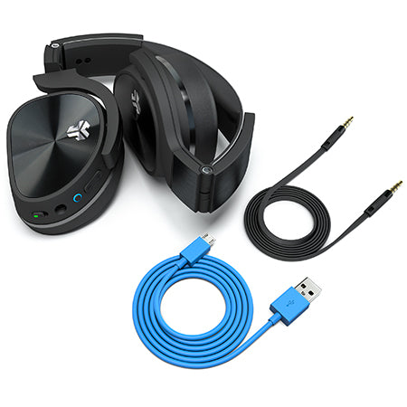 Flex Bluetooth Active Noise Canceling Headphones with included cables