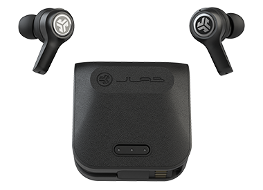 JBuds Air Exec Earbuds with Charging Case