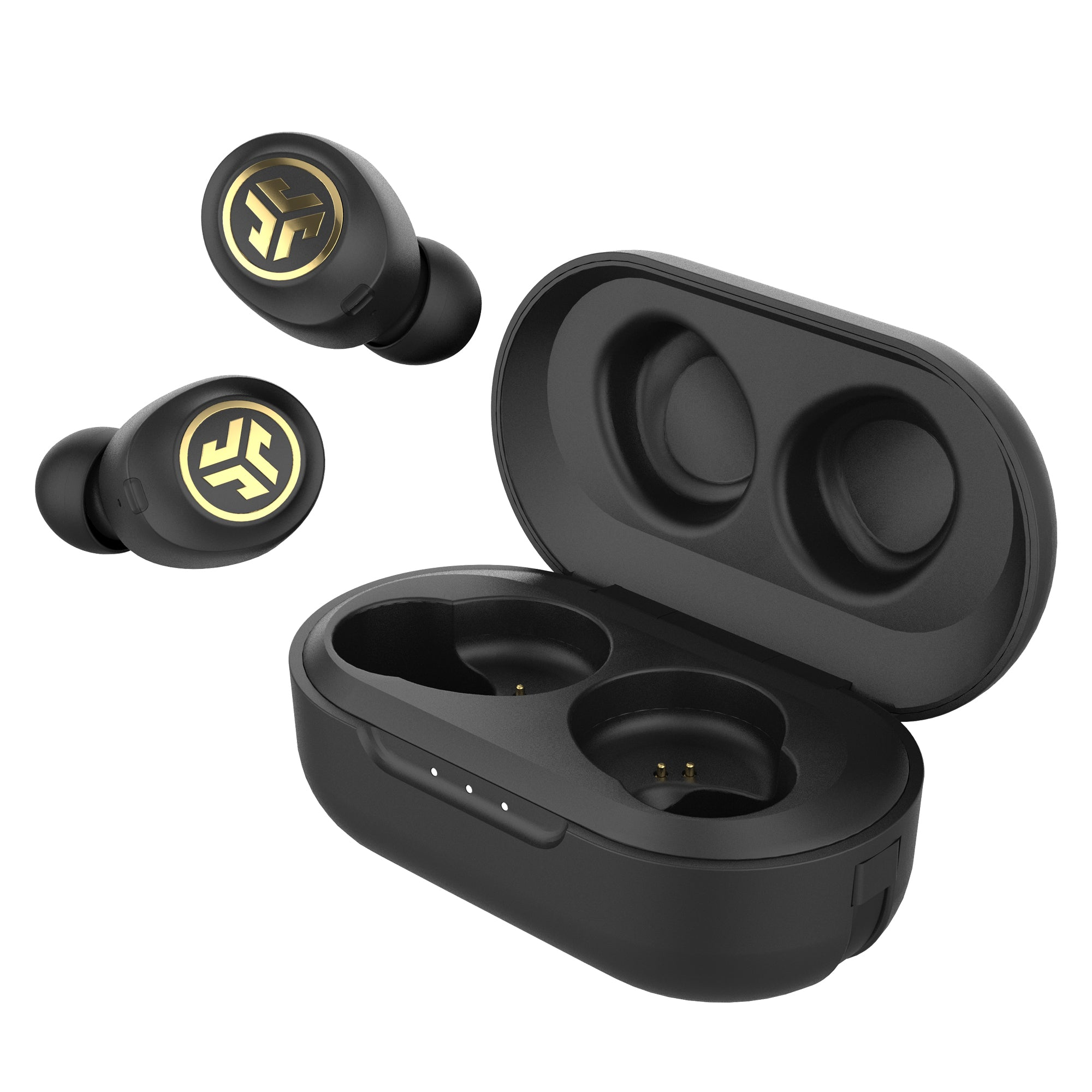 JBuds Air Icon True Wireless Earbuds med saken