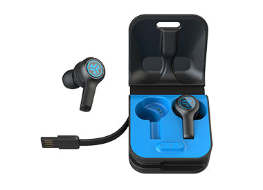 JBuds Air Play Earbuds with Charging Case