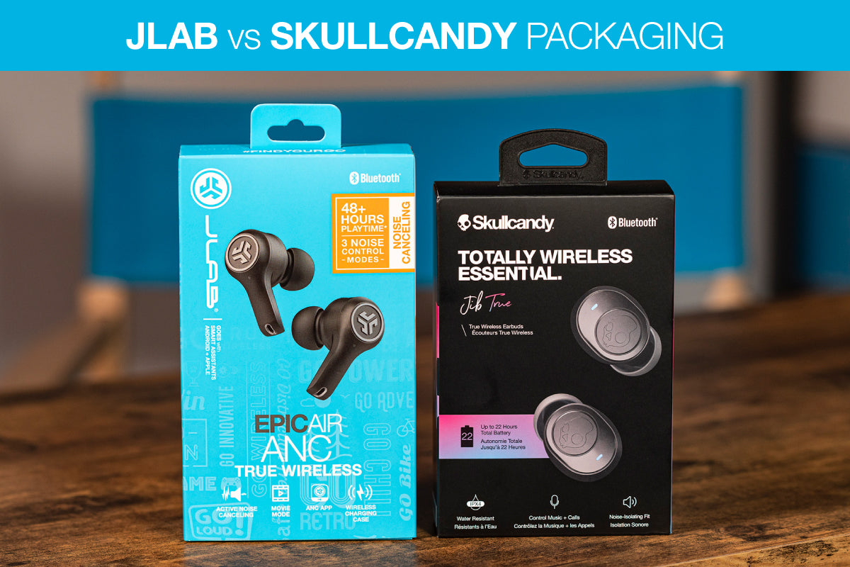 Jlab vs Skullcandy图表