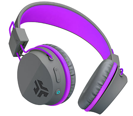 JBuddies Studio Bluetooth Over Ear Headphones in Purple