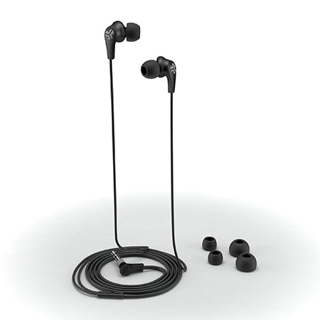 JBuds2 Signature Earbuds black with accessories