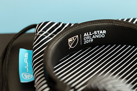 Design exclusif Bluetooth de JLab Studio pour le jeu MLS All-Star 2019