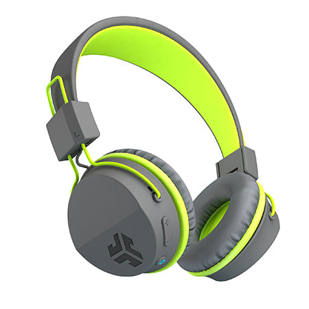 Neon Bluetooth Wireless On-Ear Headphones in green