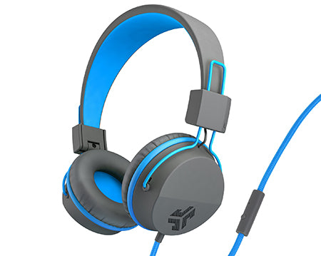 Neon On-Ear Headphones in blue