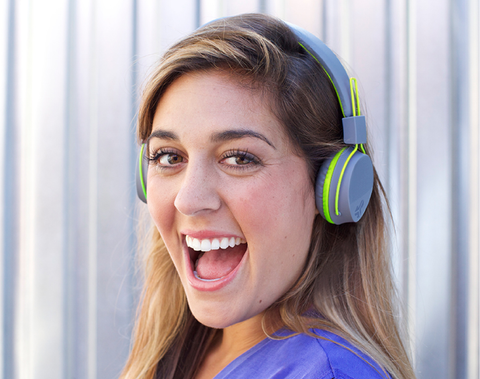 Neon Bluetooth Wireless headphones