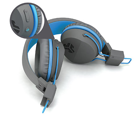 Neon Bluetooth Wireless On-Ear Headphones taitettu vihreäksi
