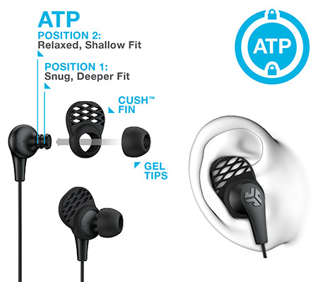 How to position JBuds Pro Signature Earbuds