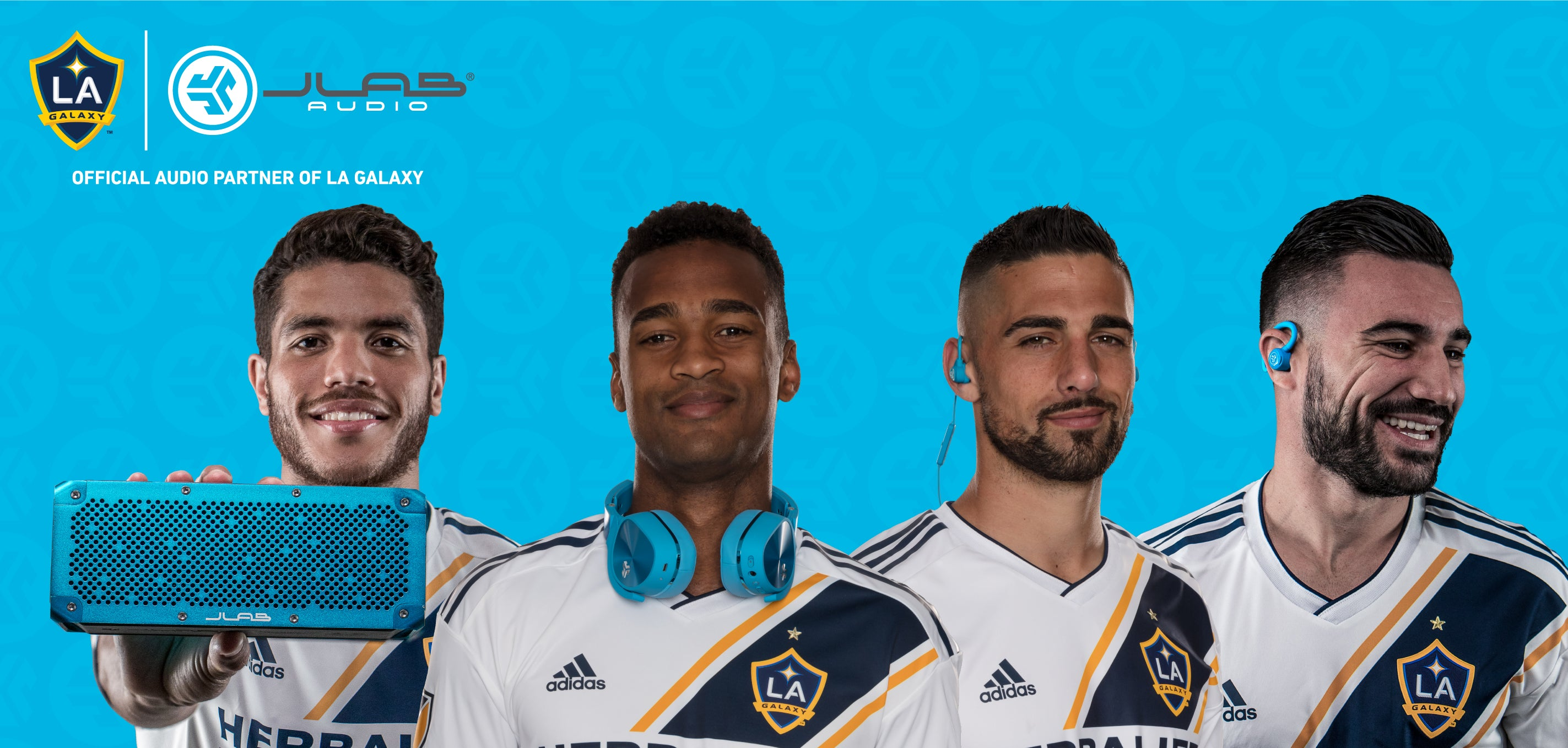 official audio partner of LA Galaxy