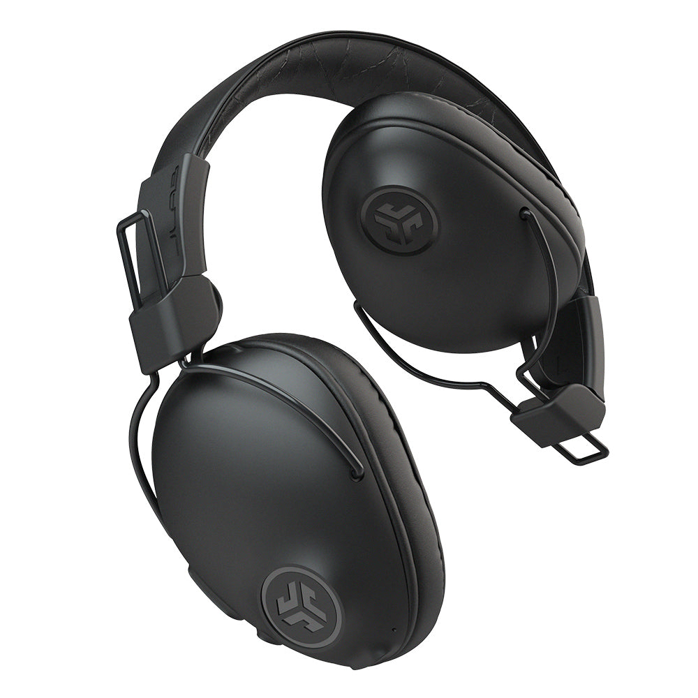 Black Studio Pro Wireless Over-Ear Headphones folded