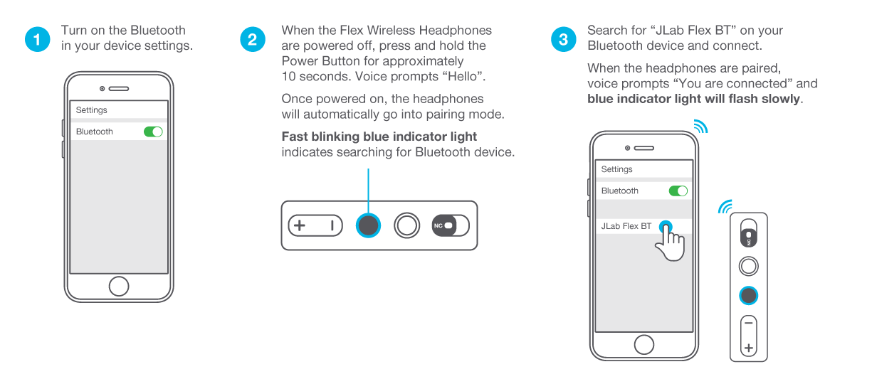 Connecting to Bluetooth