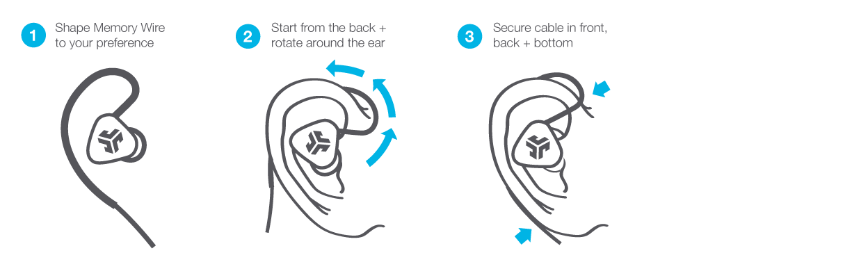 Fitting the Fit 2.0 Wireless Earbuds