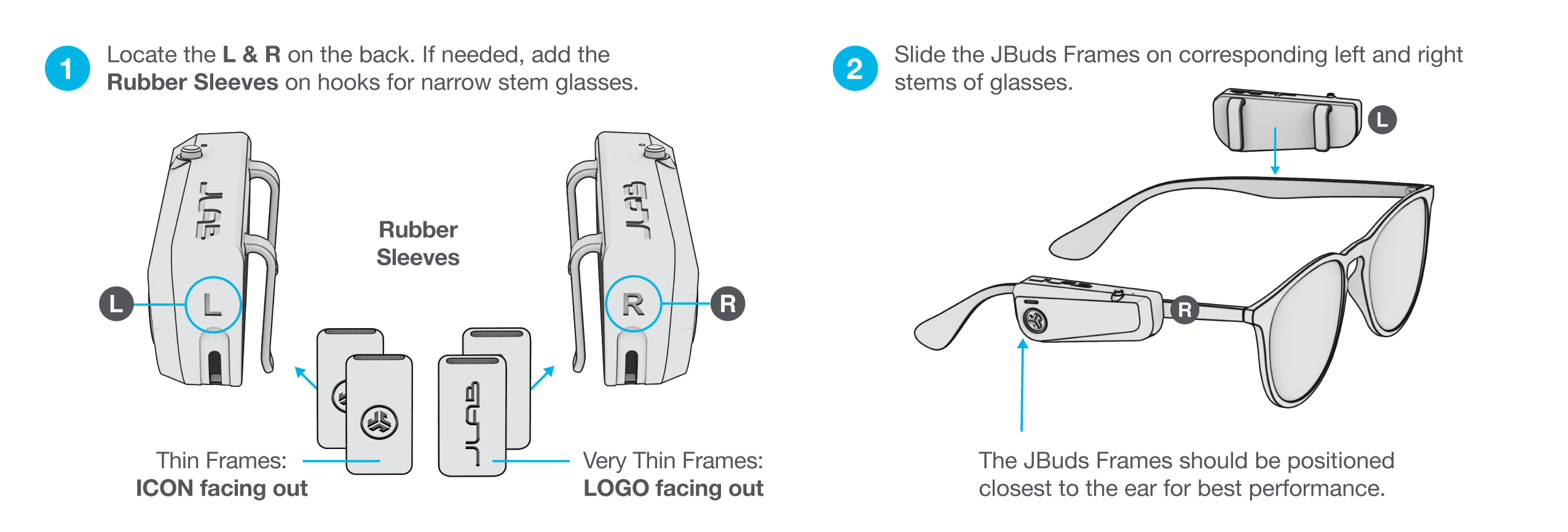 How to assemble your JBuds Frames