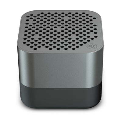 Gunmetal Crasher Micro Bluetooth Speaker Front Top-Down View