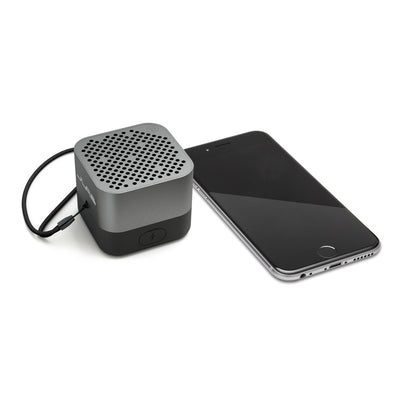 Gunmetal Crasher Micro Bluetooth Speaker with Phone