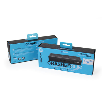 Crasher Slim Bluetooth Speaker Packaging