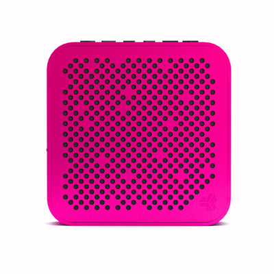 Front View of Pink Crasher Mini Bluetooth Speaker
