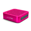 Side View of Pink Crasher Mini Bluetooth Speaker with Buttons
