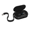 Epic Air True Wireless Earbuds in Charging Case Showing Charging Cable