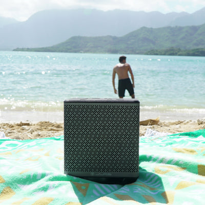 Take your Block Party Wireless Bluetooth Speaker with you on any adventure! #FINDYOURGO