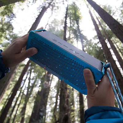 Blue Crasher XL Bluetooth Speaker in Woods