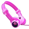 Side View of Pink JBuddies Kids Headphones