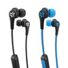 JBuds Elite Bluetooth Earbuds in Black and Blue