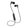 Metal Bluetooth Rugged Earbuds in black