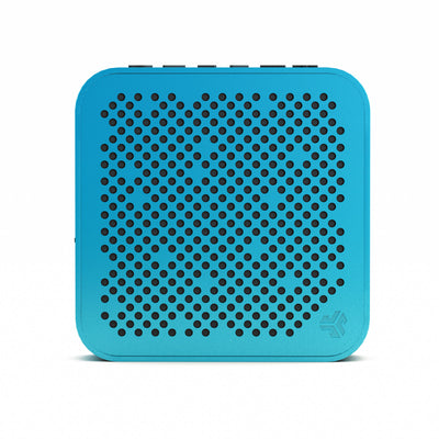 Front View of Blue Crasher Mini Bluetooth Speaker