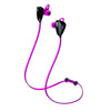 Side View of Pink JLab Go Earbuds with Cush Fins