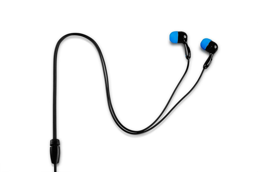 JBuds Hi-Fi Earbuds Close Up