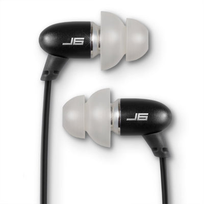 JBuds J6 Petite Metal Earbuds in black