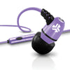 Metal Earbuds purple