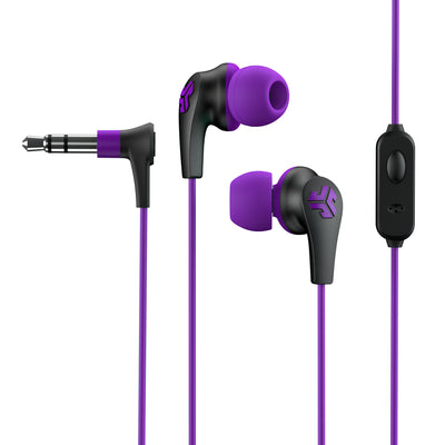 JBuds Pro Signature Earbuds in purple