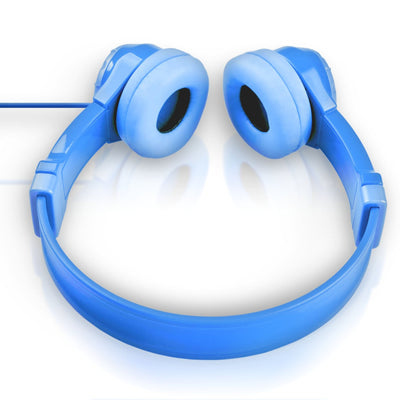 Top Down View of Blue JBuddies Kids Headphones
