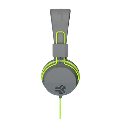 Neon On-Ear Headphones in green