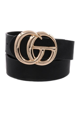 Double G Belt Black