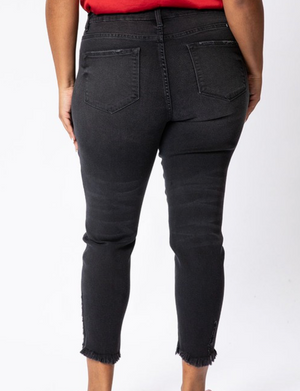 KanCan High Rise Black Denim