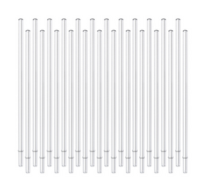 "Swig Clear Reusable Straw (10.25"")"